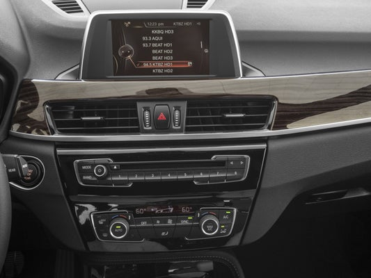 bmw buttons explained x1